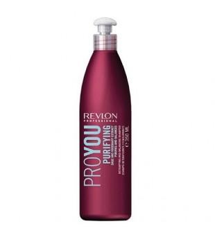 Revlon Professional Pro You Purifying Shampoo With Sage And Rosemary Šampūnas su rozmarinais riebiai galvos odai, 350ml | inbeauty.lt