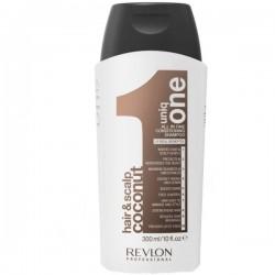 UNIQ ONE COCONUT 10 viename šampūnas-balzamas visų tipų plaukams, 300 ml