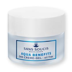 Aqua Benefits 24h Cream-Gel Drėkinamasis veido kremas-gelis, 50ml