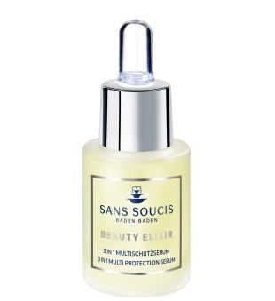 Sans Soucis  Beauty Elixir 3in1 Multi Protection Serum Apsauginis veido serumas, 15ml | inbeauty.lt