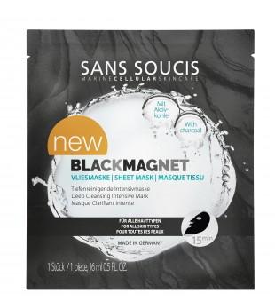 Sans Soucis  Black Magnet Sheet Mask Valomoji lakštinė veido kaukė, 25g | inbeauty.lt