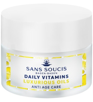 Sans Soucis  Daily Vitamins Luxurious Oils Anti Age Care Dieninis veido kremas, 50ml | inbeauty.lt