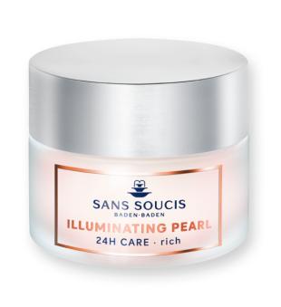 Sans Soucis  Illuminating Pearl 24H Care Rich Maitinamasis veido kremas nuo raukšlių, 50ml | inbeauty.lt