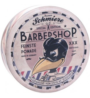 Special Edition Barbershop Strong Hold Pomade Stiprios fiksacijos pomada, 140 ml