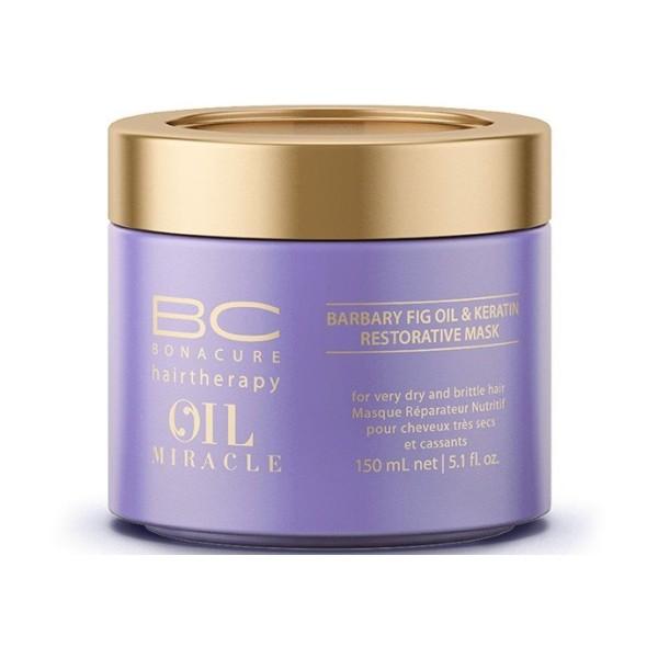 BC Oil Miracle Barbary Fig Oil & Keratin Mask Atkuriamoji kaukė su figavaisių opuncijų aliejumi, 150ml