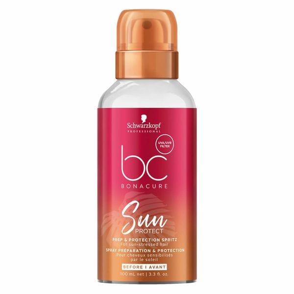 BC Sun Protect Prep & Protection Spritz Paruošiamasis ir apsaugantis plaukų purškiklis, 100ml