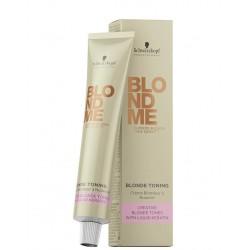 BLOND ME Bleach&Tone Plaukų balinimo ir tonavimo kremas (šiltiems atspalviams), 60ml