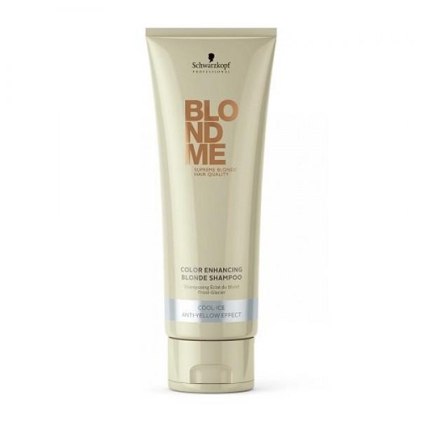 BLOND ME Color Enhancing Blonde Shampoo Atkuriamasis, toną puoselėjantis šampūnas (šaltiems atspalviams), 250ml