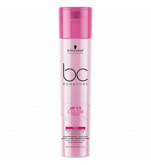 Schwarzkopf Professional BC pH 4.5 Color Freeze Rich Micellar Shampoo Maitinantis micelinis šampūnas dažytiems plaukams, 250ml | inbeauty.lt