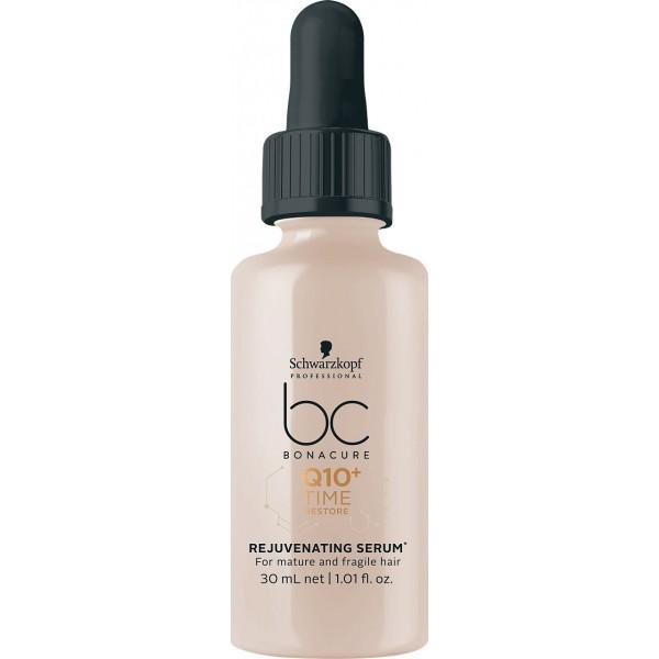BONACURE Q10 Time Restore Atkuriamasis serumas brandiems ir trapiems plaukams, 30ml