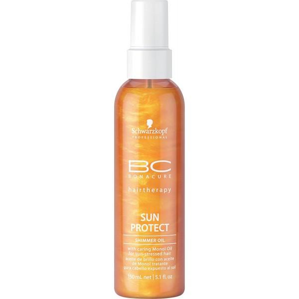 BC Sun Protect Shimmer Oil Apsauginis aliejus plaukams, 150 ml