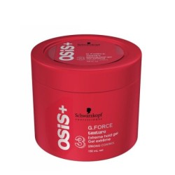 OSIS+ G.Force Texture Extreme Hold Gel Stiprios fiksacijos gelis, 150ml
