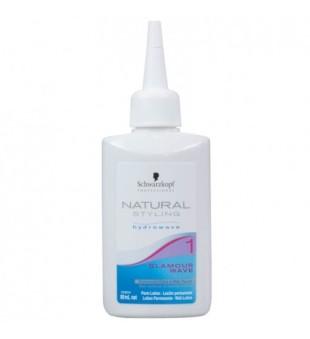Schwarzkopf Professional Natural Styling 1 Glamour Wave Cheminio sušukavimo priemonė, 80ml | inbeauty.lt