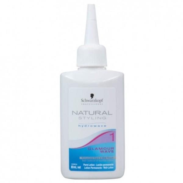 Natural Styling 1 Glamour Wave Cheminio sušukavimo priemonė, 80ml