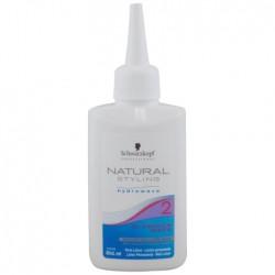 Dažytų plaukų cheminio sušukavimo losjonas Natural  Styling Glamour Wave 2 80ml
