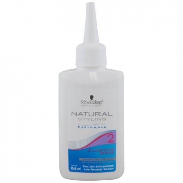 Natural  Styling 2 Glamour Wave Cheminio sušukavimo priemonė, 80ml