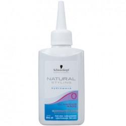 Atsparių plaukų cheminio sušukavimo losjonas  Natural Styling Glamour Wave 0 80ml