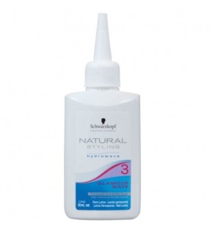 Schwarzkopf Professional Natural Styling 3 Glamour Wave Plaukų formavimo priemonė, 80ml | inbeauty.lt