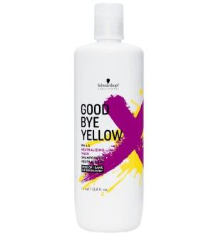 Schwarzkopf Professional Goodbye Yellow Spalvą neutralizuojantis šampūnas, 1000ml | inbeauty.lt