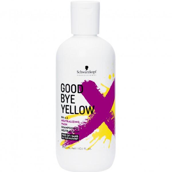 Goodbye Yellow Spalvą neutralizuojantis šampūnas, 300ml