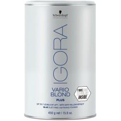 Igora Vario Blond Blue Dust-Free Lightening Powder Mėlyni plaukų šviesinimo milteliai, 450g