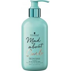 Mad About Curls High Foam Cleanser Itin putojantis šampūnas garbanotiems plaukams, 300 ml