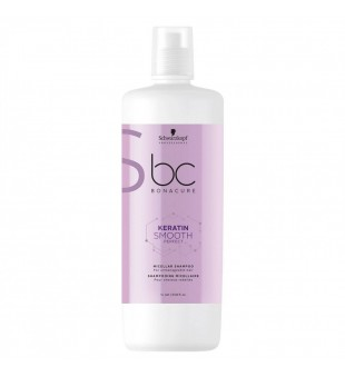 Schwarzkopf Professional Keratin Smooth Perfect Micelinis plaukų šampūnas su keratinu, 1000ml | inbeauty.lt