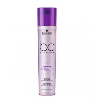 Schwarzkopf Professional Keratin Smooth Perfect Micelinis plaukų šampūnas su keratinu, 250ml | inbeauty.lt