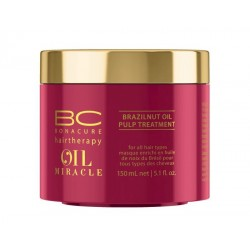 BC Oil Miracle Brazilnut Oil Pulp Treatment Plaukų kaukė su bertoletijų aliejumi, 150ml