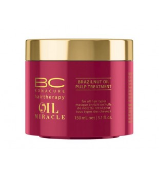 Schwarzkopf Professional BC Oil Miracle Brazilnut Oil Pulp Treatment Plaukų kaukė su bertoletijų aliejumi, 150ml | inbeauty.lt