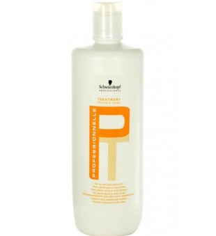 Schwarzkopf Professional Professionelle Treatment Repair & Shine Intensyvi atkuriamoji kaukė pažeistiems plaukams, 1000 ml | inbeauty.lt