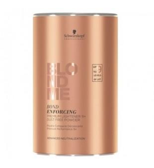 Schwarzkopf Professional BLOND ME Bond Enforcing Premium Lightener Balinanti plaukų šviesinimo priemonė, 450g | inbeauty.lt