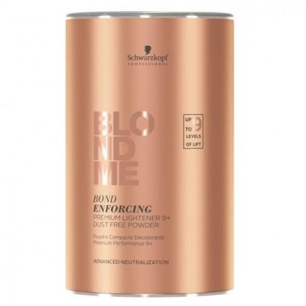 BLOND ME Bond Enforcing Premium Lightener Balinanti plaukų šviesinimo priemonė, 450g