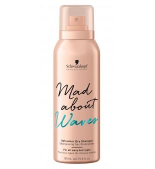 Schwarzkopf Professional Mad About Waves Refresher Dry Shampoo Sausas šampūnas, 150 ml | inbeauty.lt