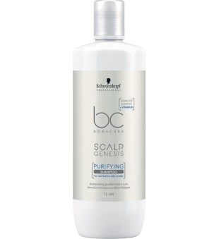 Schwarzkopf Professional BC Scalp Genesis Purifying Shampoo Giliai valantis šampūnas, 1000ml | inbeauty.lt