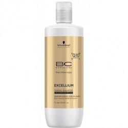 Glotninamasis plaukų šampūnas  BC Excellium Taming 1000 ml