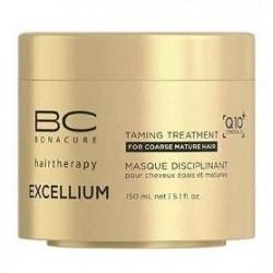 Glotninanti plaukus kaukė BC Excellium Taming 150 ml