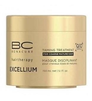 Schwarzkopf Professional BC Excellium Taming Treatment Glotninanti plaukų kaukė, 150ml | inbeauty.lt