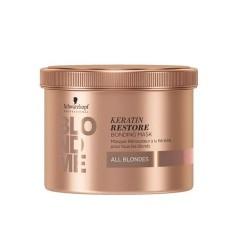 Atkuriamoji plaukų kaukė su keratinu  BlondMe Keratin Restore  500 ml