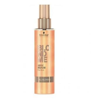 Schwarzkopf Professional BLOND ME Shine Elixir Žvilgesio suteikiantis plaukų eliksyras, 150ml   inbeauty.lt