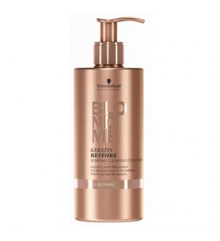 Schwarzkopf Professional BLOND ME Keratin Restore Bonding Cleansing Conditioner Atkuriamasis kondicionierius, 500ml | inbeauty.lt