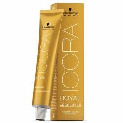 Ilgalaikio poveikio žilų plaukų dažai Igora Royal Absolutes 60 ml