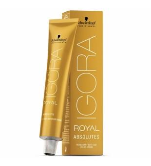 Schwarzkopf Professional Ilgalaikio poveikio žilų plaukų dažai Igora Royal Absolutes 60 ml | inbeauty.lt