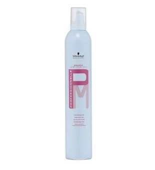 Professionelle Super Strong Hold Mousse Itin stiprios fiksacijos plaukų putos, 500 ml