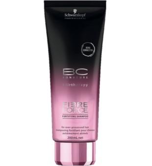 Schwarzkopf Professional BC Fibre Force Fortifying Shampoo Stiprinantis šampūnas, 200ml  | inbeauty.lt