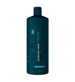 Sebastian Twisted Elastic Cleanser Garbanotų plaukų šampūnas, 1000 ml | inbeauty.lt