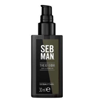 Sebastian The Groom Hair And Beard Oil Plaukų ir barzdos aliejus, 30ml | inbeauty.lt