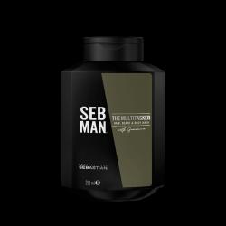 The Multitasker Hair, Beard & Body Wash Plaukų, barzdos ir kūno prausimosi gelis, 250ml