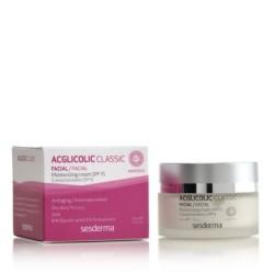 Acglicolic Classic Moisturizing Face Cream SPF15 Drėkinamasis veido kremas, 50ml