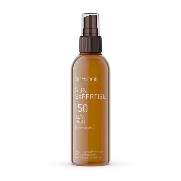 Sun Expertise Dry Oil Protection SPF 50 Sausas aliejus kūnui ir plaukams, 150ml